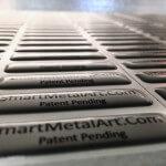 Domade metallic klistermärken