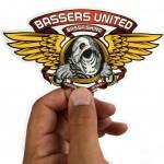 Transparenta klistermärken till Bassers