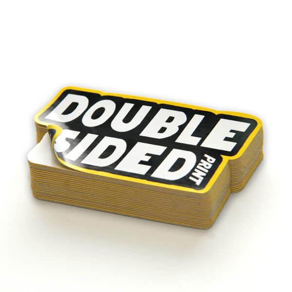dubbelsidiga dekaler