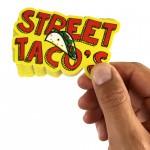 Klistermärken till Street tacos