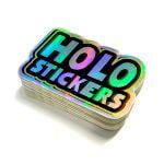 Holografiska klistermärken